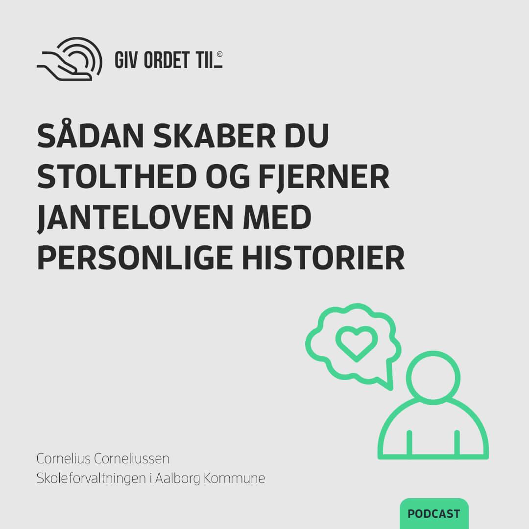 Podcast - Cornelius Corneliussen - Skoleforvaltningen i Aalborg Kommune